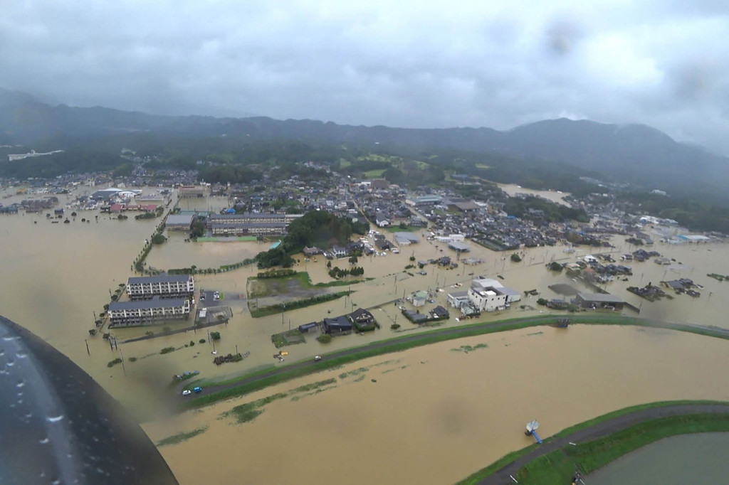Heavy rain is expected to continue across Japan.